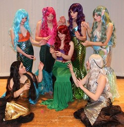 "Cast of ""The Little Mermaid"""
