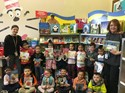 The Title I Book Fair was visited by Head Start Pre-Kindergarten students and their teachers.