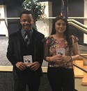 GAR Students receive Upward Bound Pins