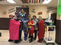 Superhero PSSA pep rally