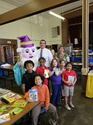 UGI Reading Wizard Visits the First Grade Students of Dodson Elementary