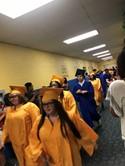 graduates march at Kistler