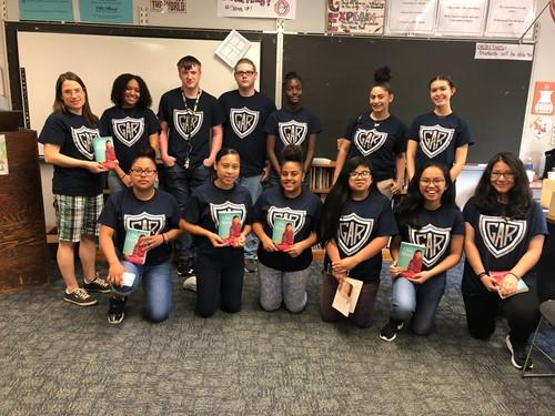 GAR 8th graders raise money for Malala Fund