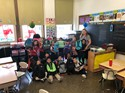 Mrs. Lavelle's 1st grade backpack picture