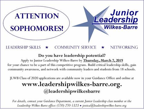 Junior Leadership