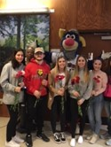 Students Salute Veterans for Valentine's Day