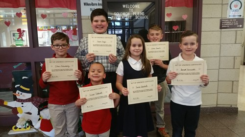 Kindness Students for Jan