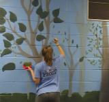 Painting the walls at Heights
