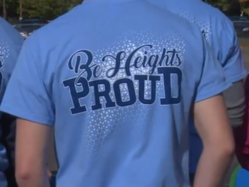 Be Heights Proud T-shirt