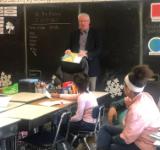 Mr Payne is guest reader