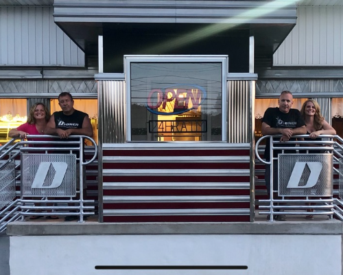 D's Diner and owners