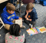Buddies team up to read