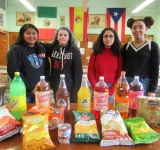 Spanish Class Students