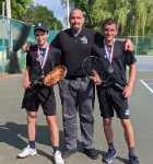 Tennis Doubles team