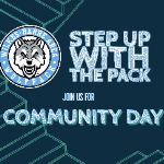 STEP UP with the Pack Community Day