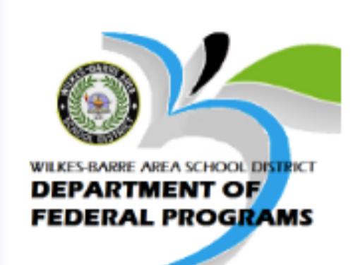 Dept. Of Federal Programs