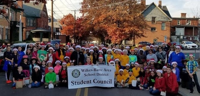 Kistler in Wilkes-Barre Christmas Parade