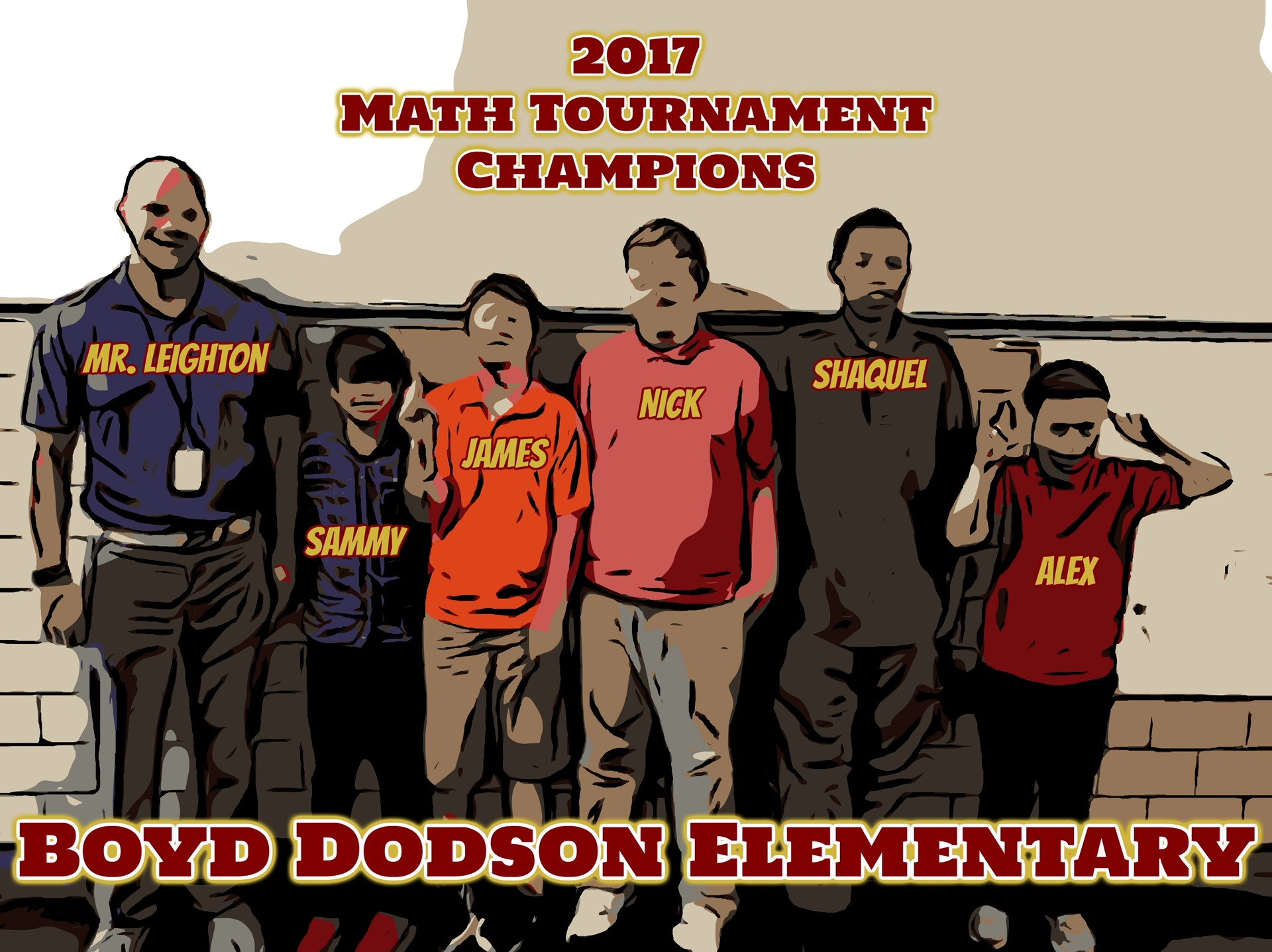 2017 Math Tournament Champions