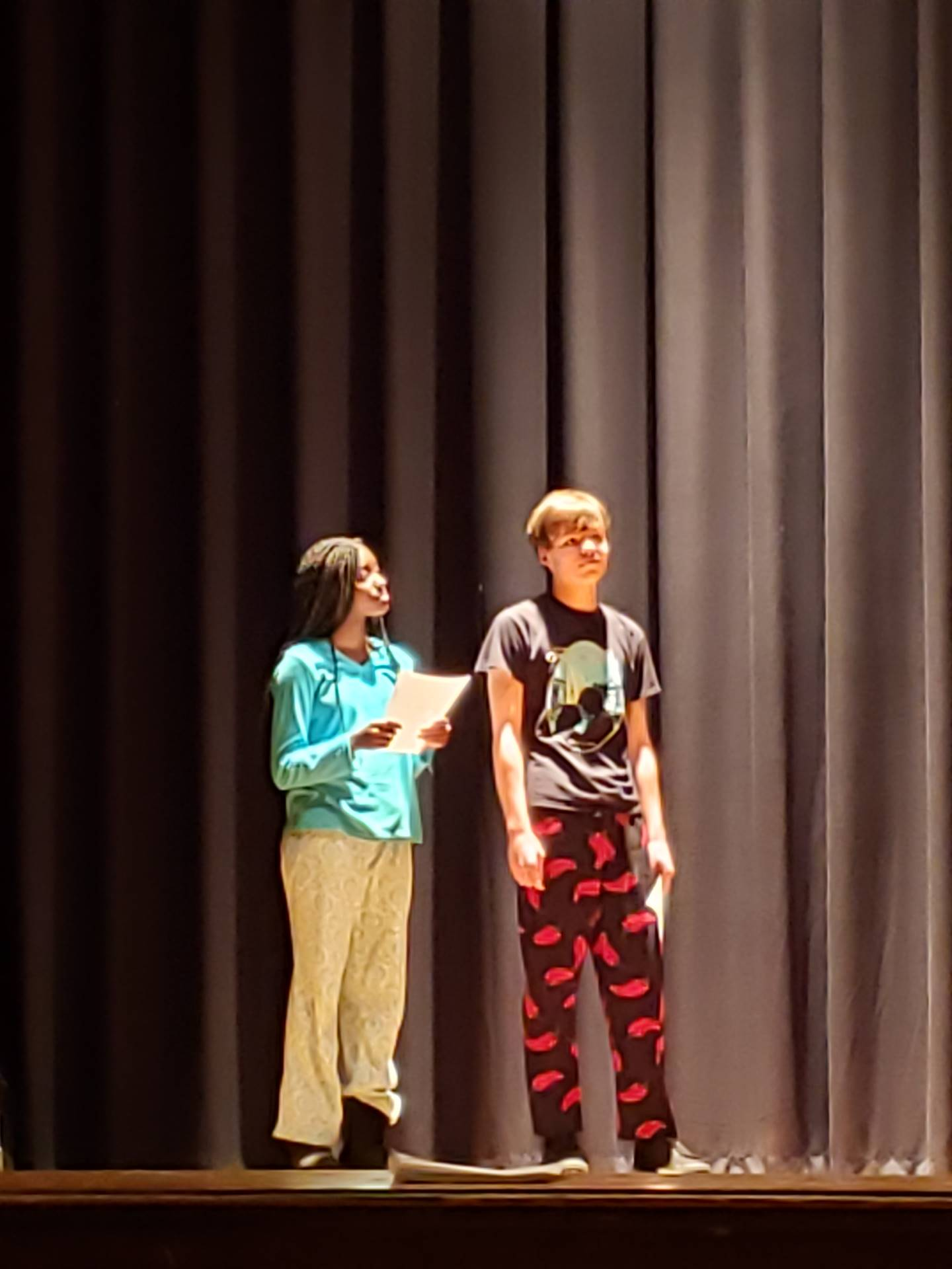 Theatre Arts Students Partake in Partner Scene Work