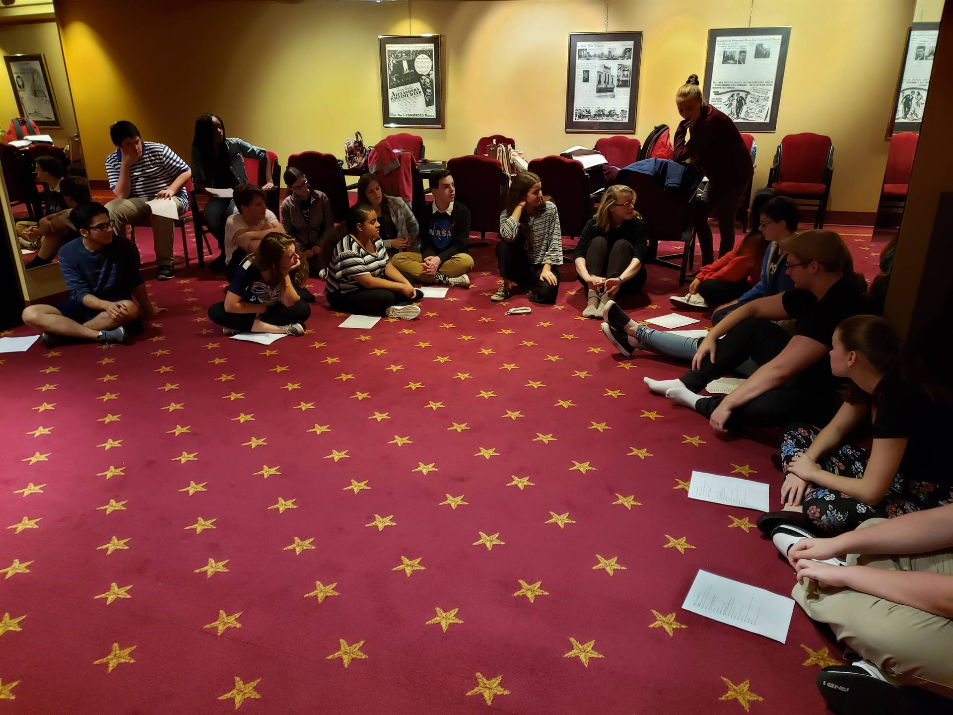 Theatre Arts Master Class at the Kirby Center