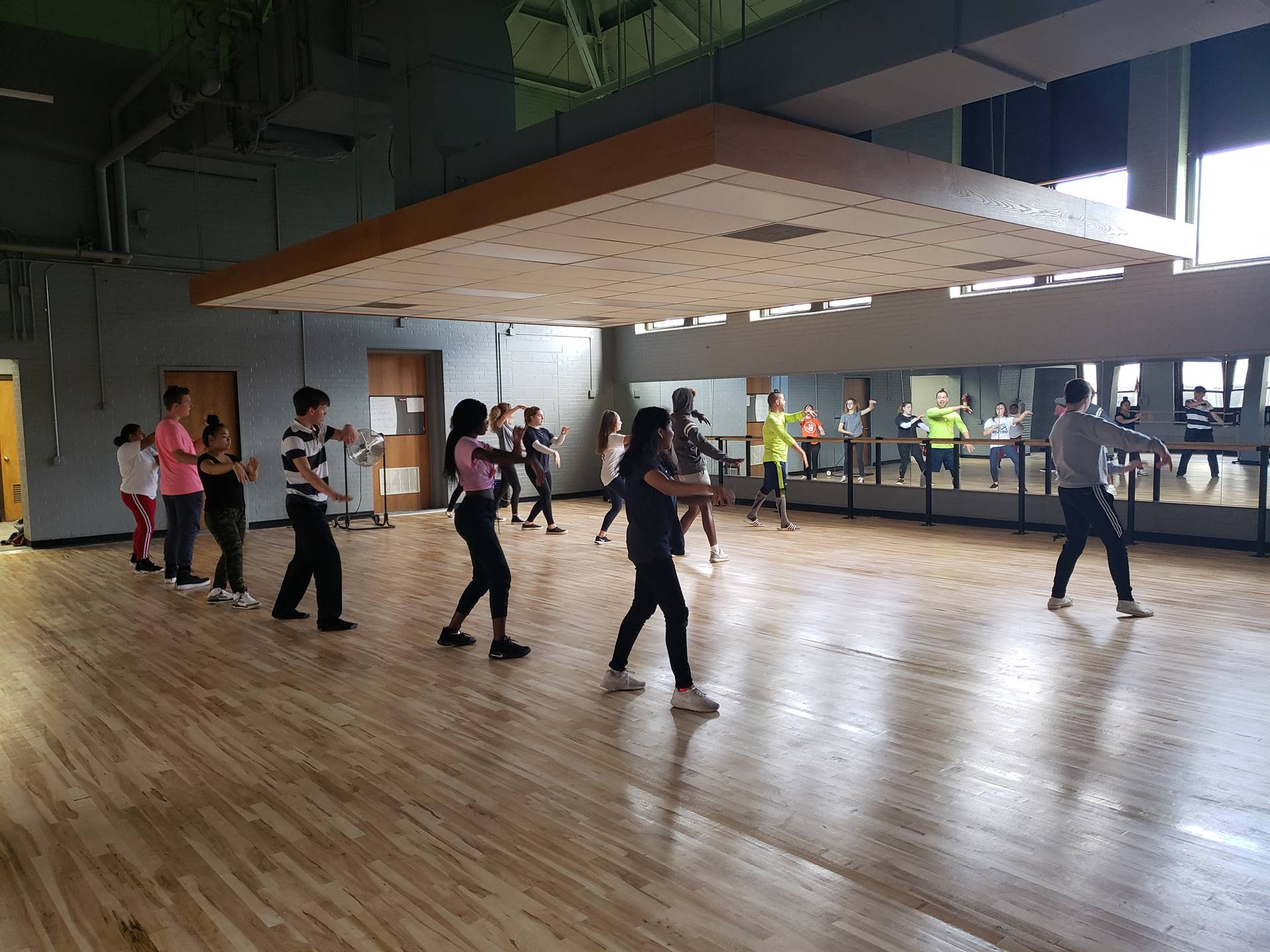 WBASD CAPAA Students Participate in a Flex Period Hip-Hop Class