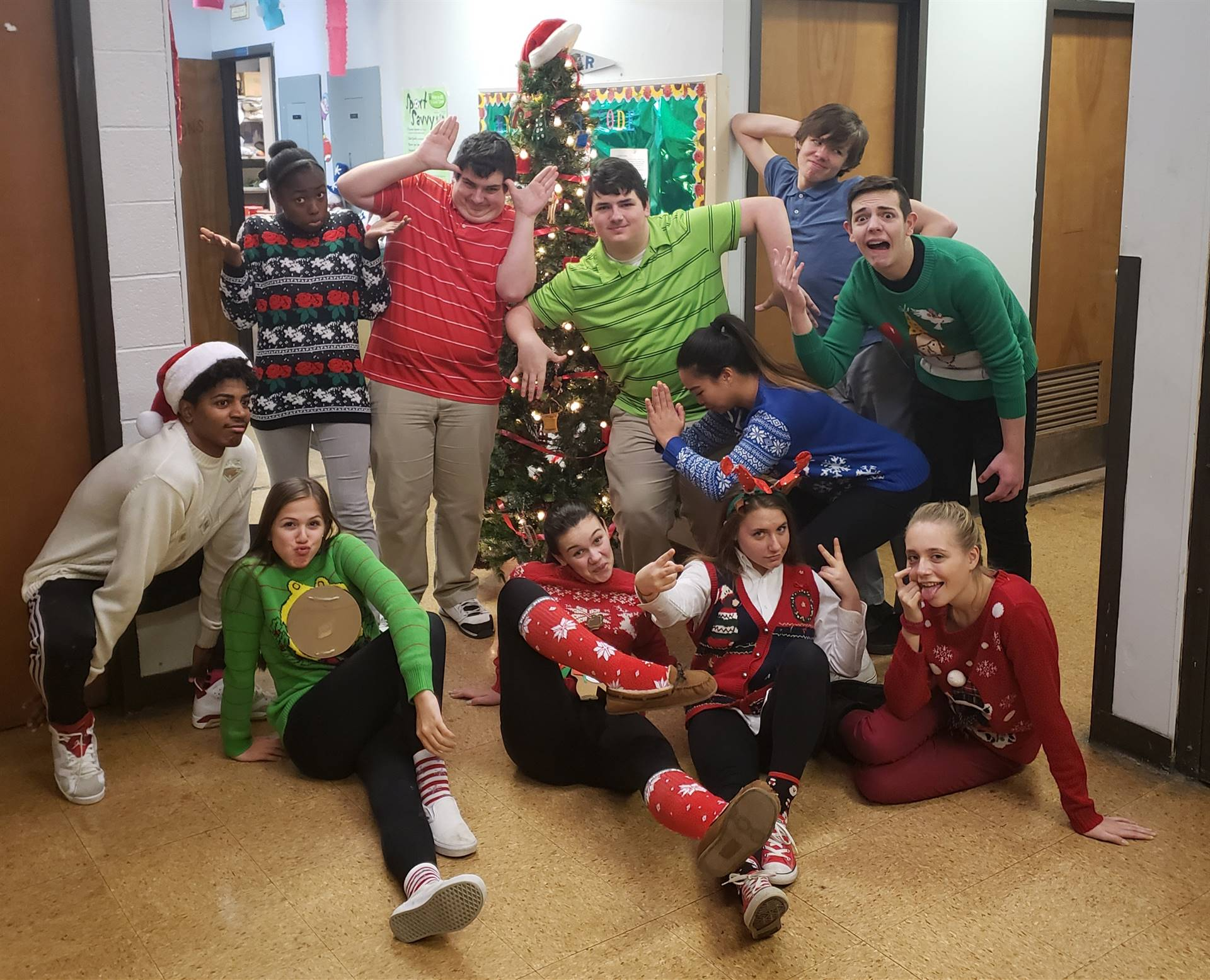 CAPAA Theatre Arts Ugly  Christmas Sweater Party 2018