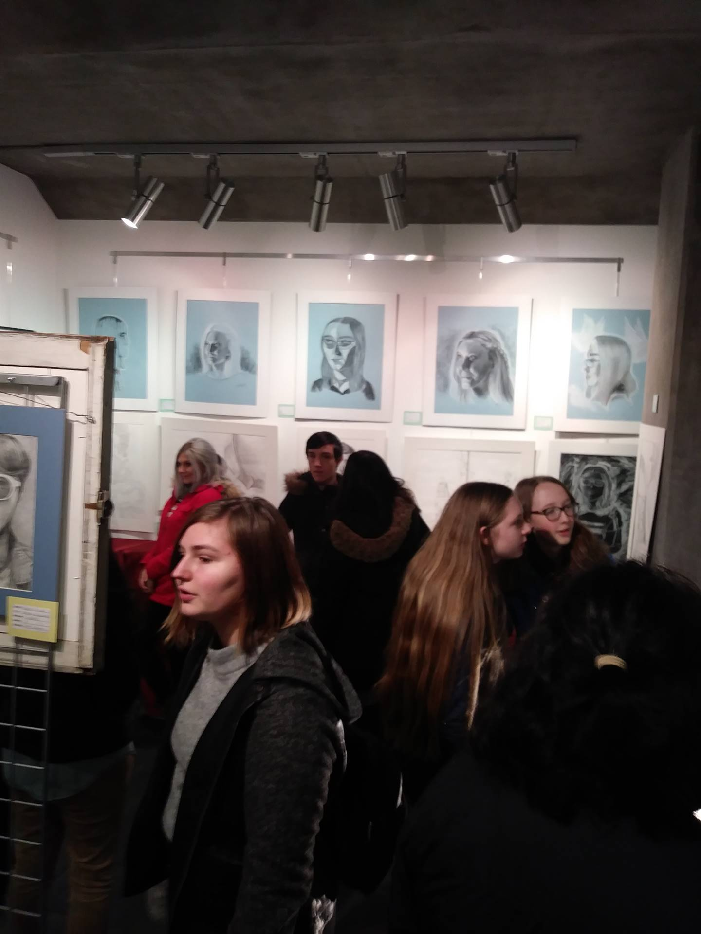 CAPAA Art Gallery Opening at Penn State WB