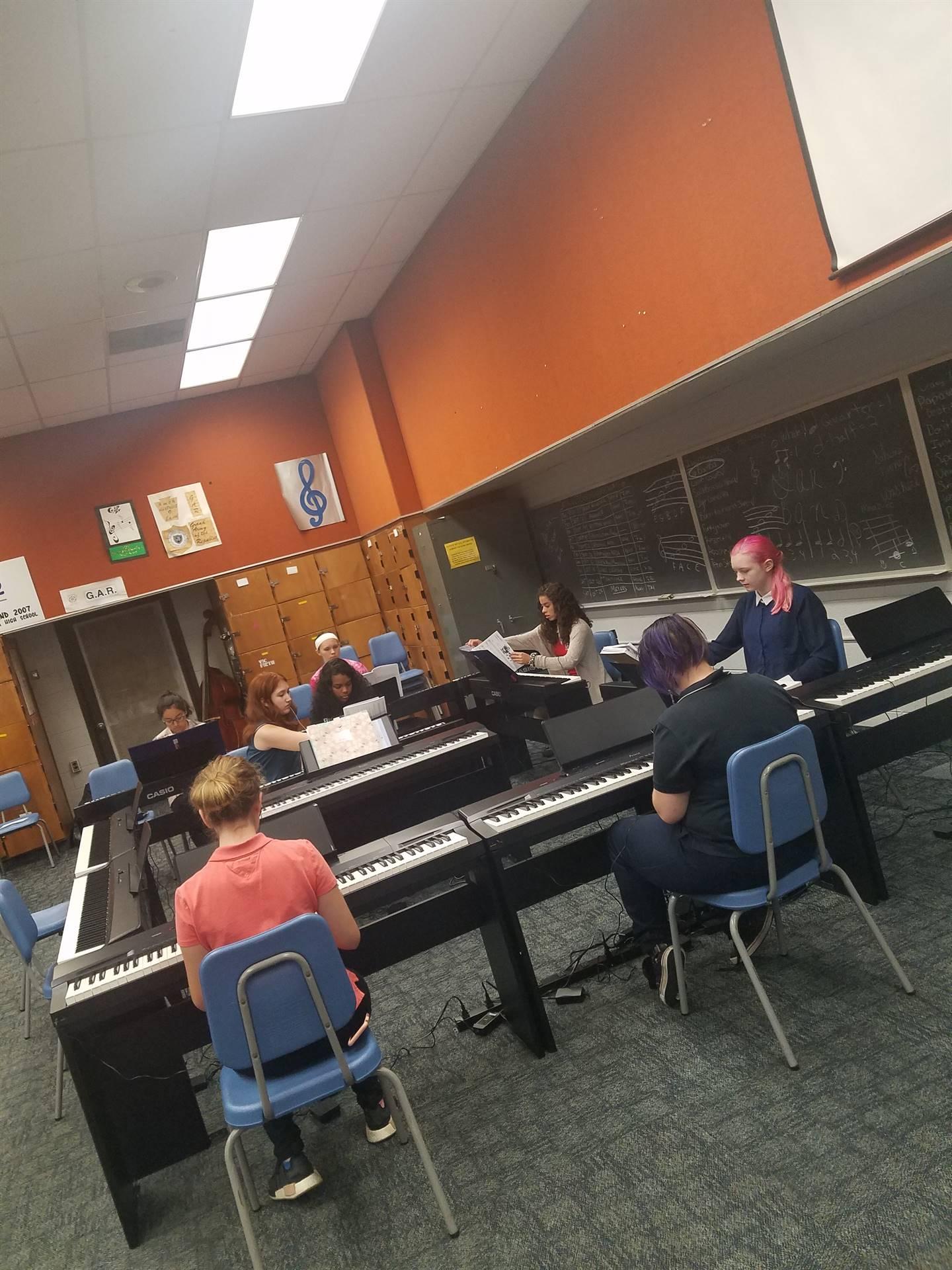 WBASD CAPPA Chorus Singing Their Warm-up Canon