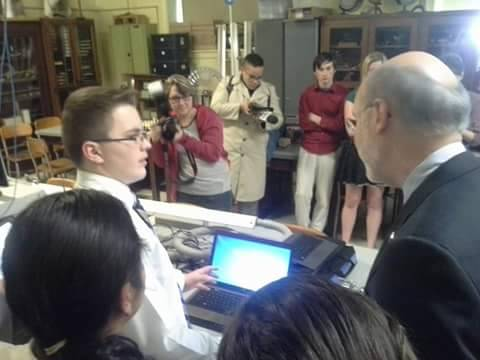 STEM Team Meeting Governor Wolfe
