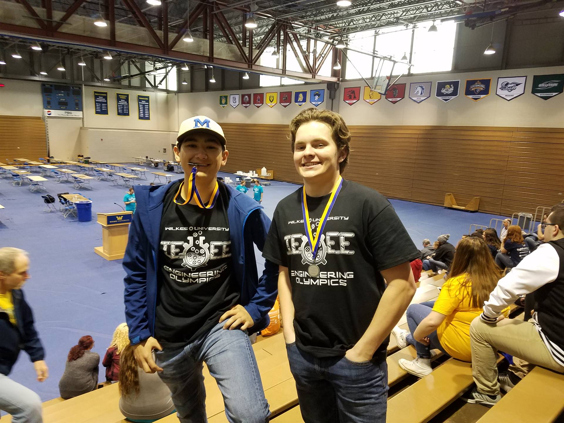 Engineering Olympics Medalists