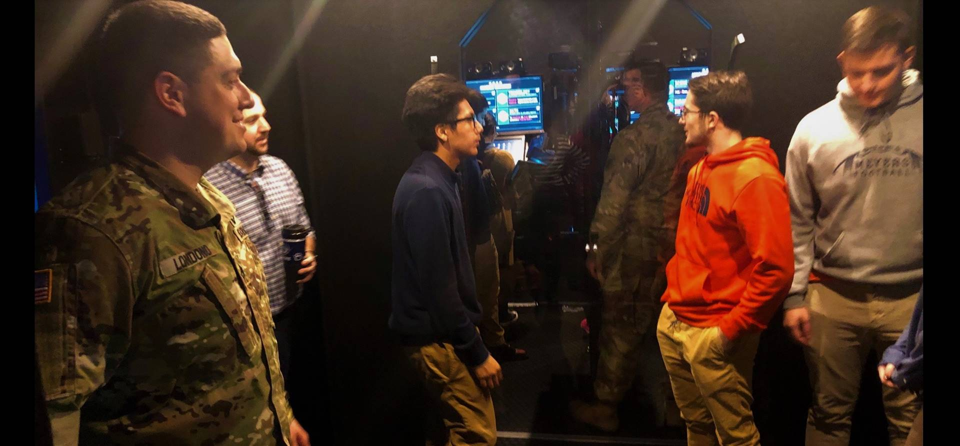 STEM Seniors tour the US Army STEM Semi to learn about technology and careers