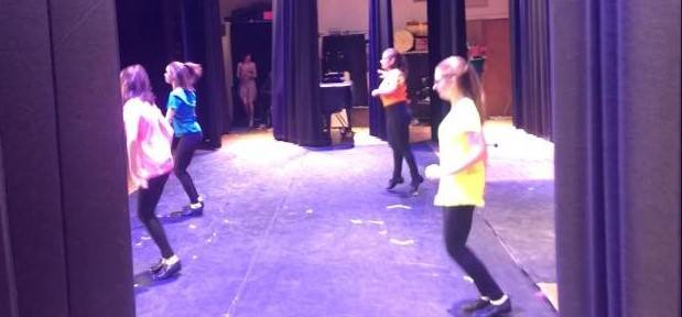 CAPAA Dance Students Performing in Showcase