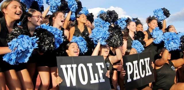 Wolfpack Cheerleaders